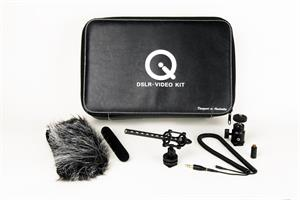 Que DSLR-Video  Microphone Kit