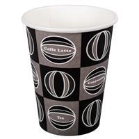 Kaffekopp dekor 437ml 20 x 50st