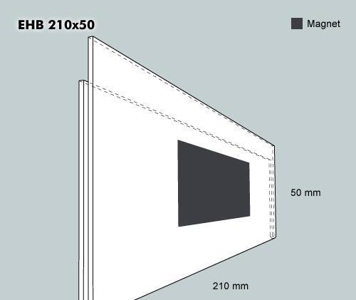 Etiketthållare. EHB 210-50F