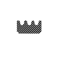 E-profil tetningslist 9x8 mm sort EPDM - Løpemeter
