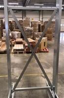 Stagsektion 1250 med kryss 3500-4000 mm galv