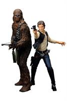 Star Wars, ARTFX, Han Solo & Chewbacca, 2-Pack