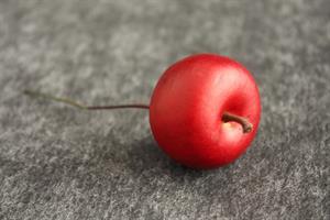 Äpple rött 2,5cm vattenfast 24/fp