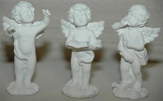 ÄNGEL vit sjunger ass