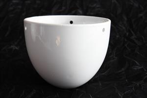 Ampel keramik vit D15cm 6/fp