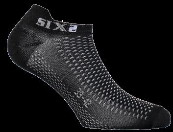SIXS - No-Show Socks - Black