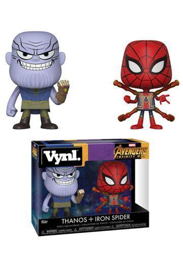 Avengers Infinity War, Thanos & Iron Spider 2-pack