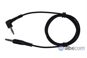 Kabel Hörselskydd 3,5mm.FL8H-S-Rak kontakt