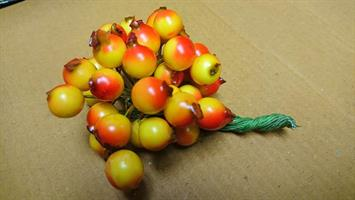 Bär orange/röd D1cm 12x36st