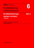 VDA 6.2 Ledningssystem tilläggskrav tjänsteföretag