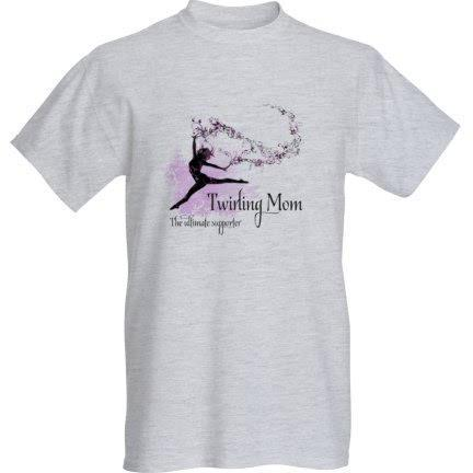 T-Shirt Twirling Mom 1.0 - S