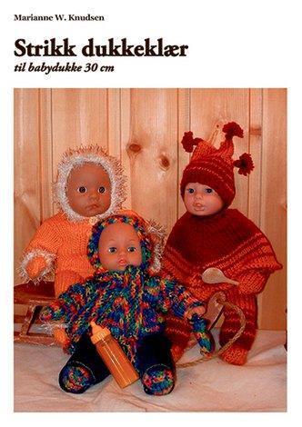 Dukkeklær til dukke 30 cm