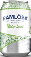 Ramlösa 24 x 33cl Fläder&Lime