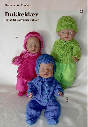 Dukkeklær til Babyborn