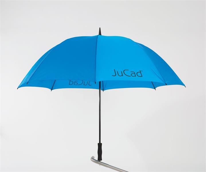 JuCad Golfparaply inkl. Titaniumpigg, Blå
