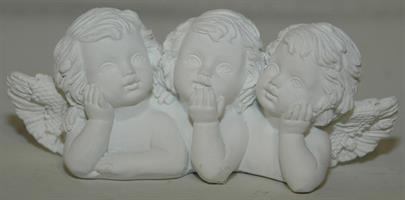 ÄNGLAR vit trio