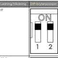 Overgang fra type 2 til type 1 3x6mm2 32A