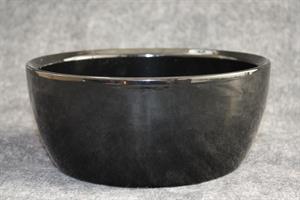 Skål Keramik svart D23 cm 2/fp