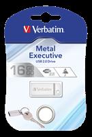 Minne USB-2.0 Verbatim Silver 16GB