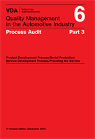 Processrevision VDA 6.3:2016 ENG