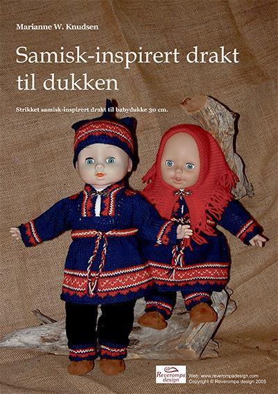 Samiskinspirert dukkeklær til Dukke 30cm