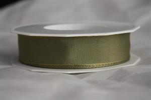 Band 25 mm 25 m/r nilgrön lyon med tråd