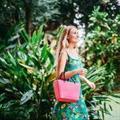 Hinza väska tropical pink stor
