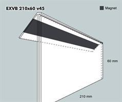Etiketth. EXVB 210-60F 45V mag