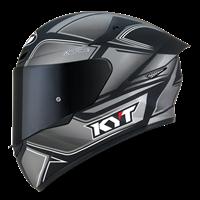 KYT TT-COURSE - Tourist Matt Cool Grey