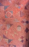 Tyg Collage röd Uddebo buss