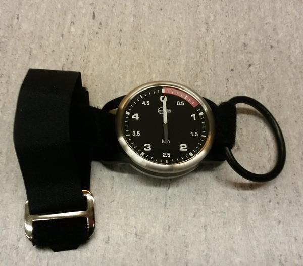Barigo 90 / black korkeusmittari käsitelineellä