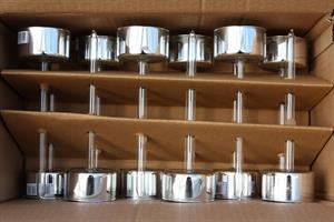 Ljushållare silver 12/fp olika storlekar