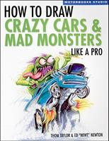 How To Draw Crazy Cars And Mad Monsters