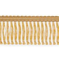 Kransbandsfrans med häfta guld