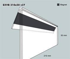 Etiketth. EXVB 210-50F 27V mag
