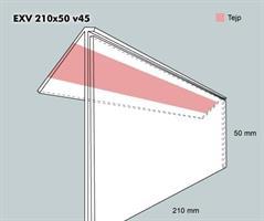 Etiketth. EXV 210-50F 45V tej