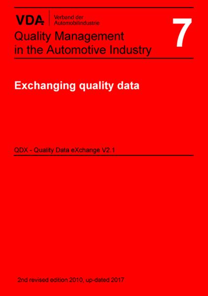 Vol 7. Utbyte av kvalitetsdata QDX ENG