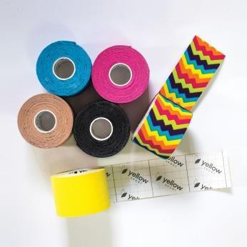 Kinesiologi Tape yellowTAPE 5cmx5m gul