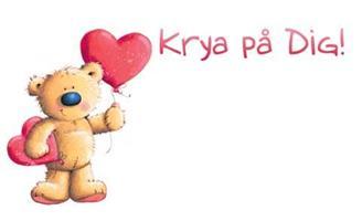Kort Krya på dig 100/fp