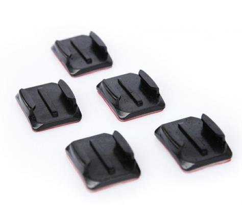 GoPro Curved Adhesive Mount (5 kpl set)