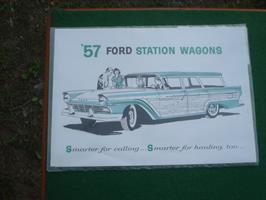 Ford 1957 Station Wagons
