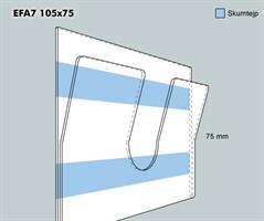 Etikettficka EFA7 105-75F