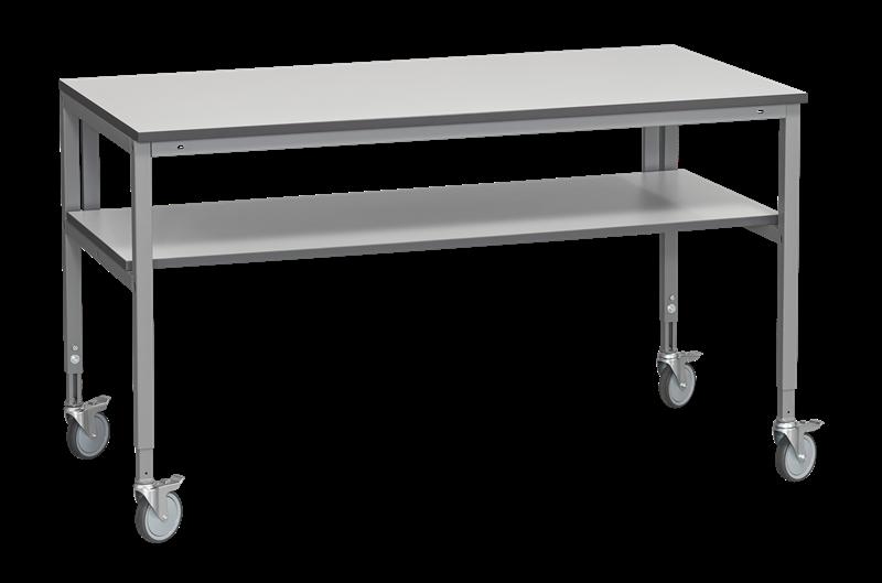 Arbetsbord med hjul 1600x800 mm Laminat