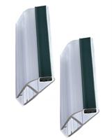 Magnetlist 135 grader for 10 mm glass - 1 par