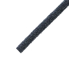 Ventilfyll 460x17x17 mm sort - 1 stk