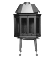 Dovre 1900 CBS / 1900 CB-GL -Peisglass (ny modell)
