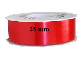 Band plast 25 mm röd 91 m