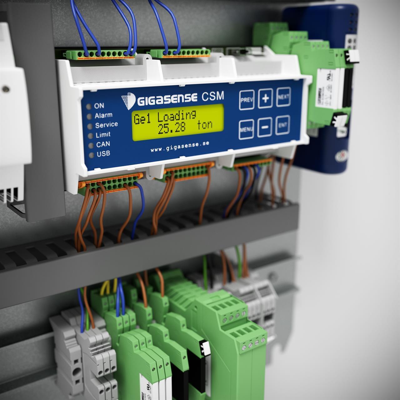 Drifttidsmätare elektronikenhet