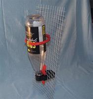 Vattenkopp-hållare till PET-flaska