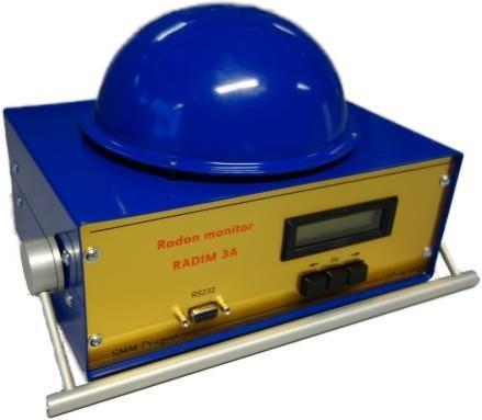RADIM 3A radon monitor